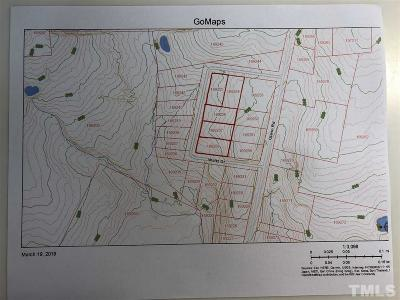 Durham County Residential Lots & Land For Sale: 144 Waltz Drive