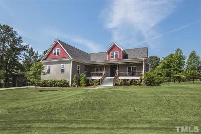 Garner Single Family Home Contingent: 5008 Maple Shady Court