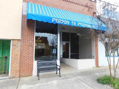 Chatham County Commercial For Sale: 210 N Chatham Avenue