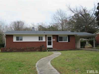 Raleigh Single Family Home For Sale: 1901 Boaz Road