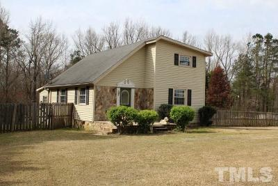 Benson Single Family Home Contingent: 7613 Elevation Road