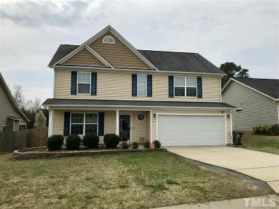 Angier Single Family Home Pending: 80 Brax Carr Way