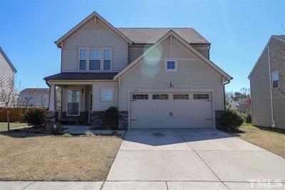 Knightdale Single Family Home Pending: 1402 Sunday Silence Drive