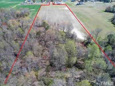 Johnston County Residential Lots & Land Contingent: Massey Holt Road