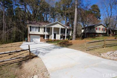Durham Single Family Home Contingent: 4014 King Charles Road