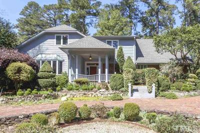 Raleigh Single Family Home For Sale: 103 Pasquotank Drive