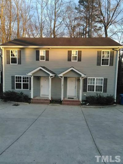 Wake County, Durham County, Orange County Multi Family Home Pending: 1106 Geer Street #A/B