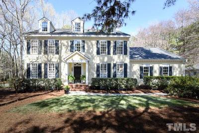 Chapel Hill Single Family Home Pending: 101 Nottingham Drive