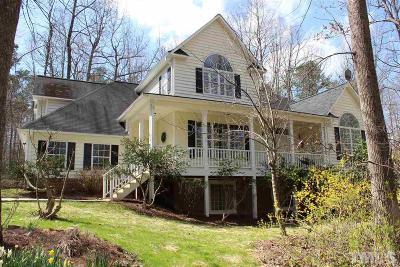 Hillsborough Single Family Home Contingent: 214 Oak Ridge Drive