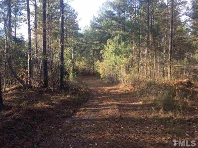 Chatham County Residential Lots & Land For Sale: 615 Gade Bryant Road