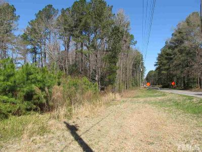 Zebulon Residential Lots & Land For Sale: 1821 Pearces Road