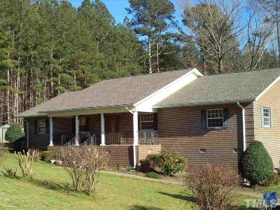 Sanford Single Family Home For Sale: 607 Dycus Road