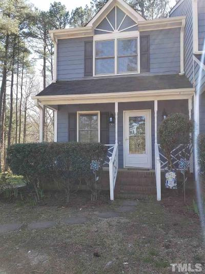 Wake Forest Townhouse Contingent: 1301 Wall Road