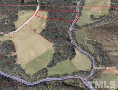 Durham County Residential Lots & Land For Sale: 616 Bowen Road