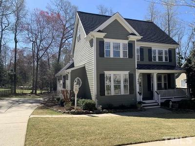 Holly Springs Single Family Home For Sale: 268 Elmcrest Drive