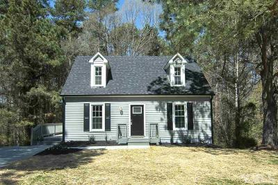 Raleigh Single Family Home For Sale: 717 Habersham Place
