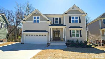 Apex Single Family Home For Sale: 1117 Bexley Hills Bend