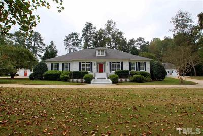 Fuquay Varina Single Family Home For Sale: 5013 Hanna Lane
