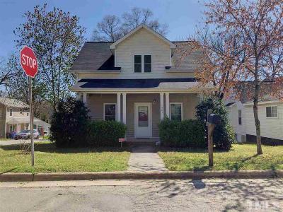 Durham Single Family Home For Sale: 1401 Gunter Street