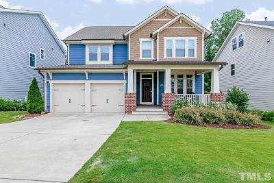 Holly Springs Single Family Home For Sale: 224 Climbing Tree Trail