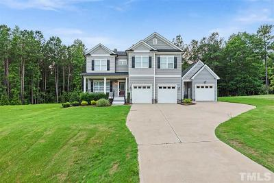 Clayton Single Family Home For Sale: 129 Glamorgan Drive