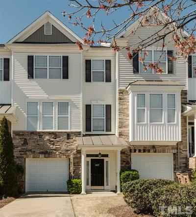 Wake Forest Townhouse Contingent: 4419 Iyar Way