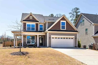 Holly Springs Single Family Home Contingent: 101 Ladys Mantle Lane
