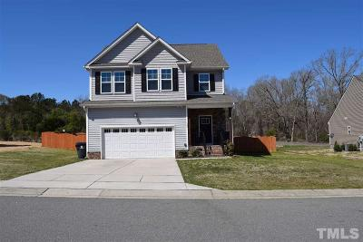 Wendell Single Family Home Pending: 509 Kennelman Circle