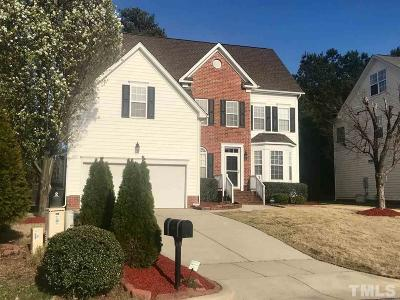 Morrisville Single Family Home For Sale: 100 Elmhaven Way