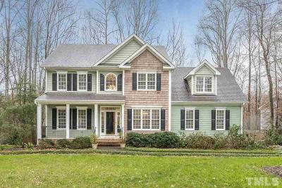 Wake Forest Single Family Home Contingent: 3328 Keighley Forest Drive