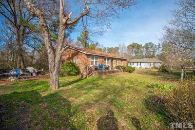 Holly Springs Single Family Home For Sale: 10232 Holly Springs Road