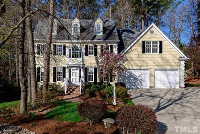 Cary, Durham Single Family Home Contingent: 214 Stoneleigh Drive