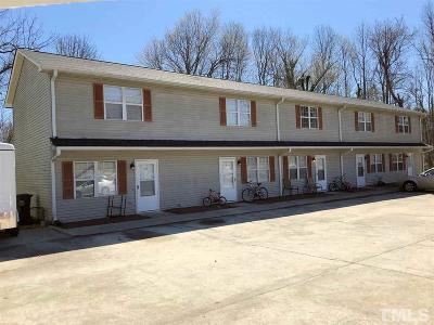 Wake County, Durham County, Orange County Multi Family Home Contingent: 213 S Eleventh Street