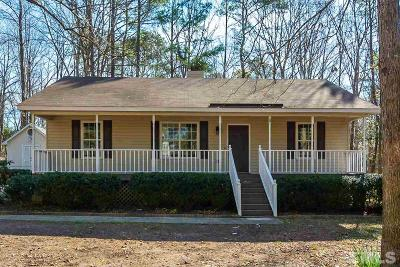 Youngsville Single Family Home Pending: 5428 New Oak Street