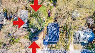 Raleigh Residential Lots & Land For Sale: 105 Turner Street