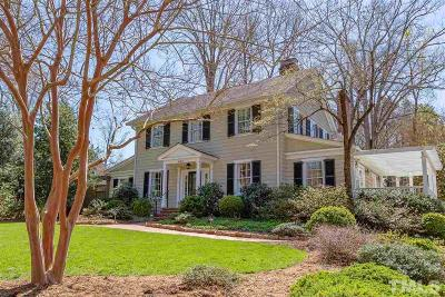 Chapel Hill Single Family Home Contingent: 428 Westwood Drive