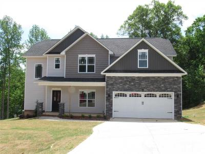 Knolls At The Neuse Single Family Home For Sale: 26 Cliffside Circle