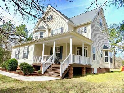 Pittsboro Single Family Home For Sale: 172 Lauren Rose Lane