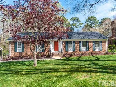 Raleigh Single Family Home Contingent: 6712 Valley Lake Drive