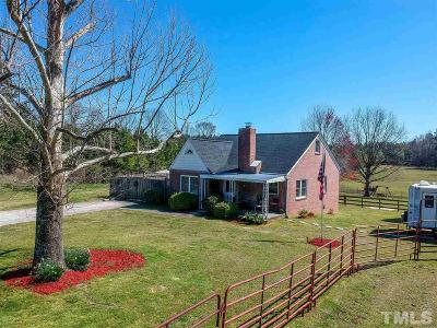 Durham Single Family Home For Sale: 5012 Leesville Road
