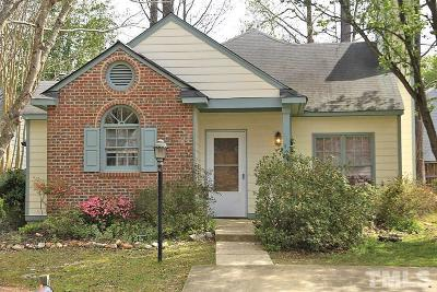 Cary Single Family Home Contingent: 124 Sterlingdaire Drive