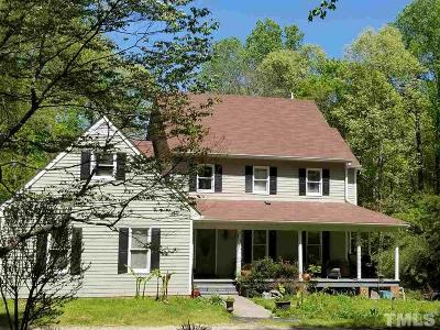 Raleigh Single Family Home For Sale: 11432 Peed Dead End Road