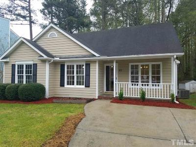 Wake Forest Single Family Home Contingent: 707 St Catherines Drive North