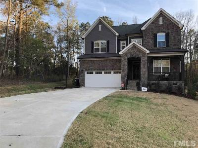 Holly Springs Single Family Home For Sale: 225 Blue Granite Drive