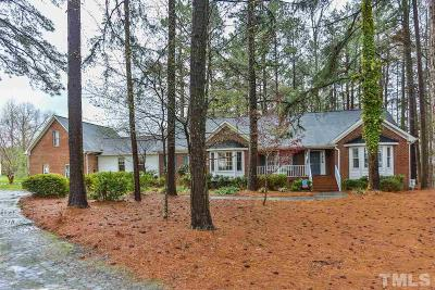 Hillsborough Single Family Home Contingent: 2929 Nc 57 Highway