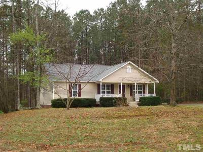 Clayton Single Family Home Contingent: 634 Lockwood Drive
