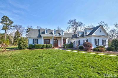 Pittsboro Single Family Home Contingent: 513 Cedar Grove Road