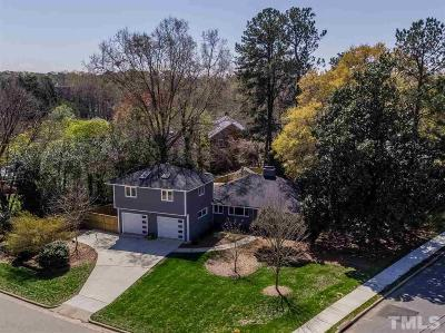 Wake County Single Family Home Contingent: 1707 Sutton Drive