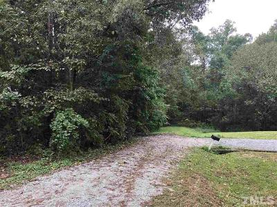 Durham County Residential Lots & Land For Sale: 2122 Overland Drive