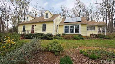 Chapel Hill Single Family Home For Sale: 141 Stateside Drive